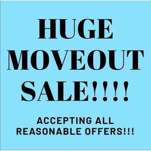 Other - SALE!!! CLEAR OUT ALL ITEMS!!!